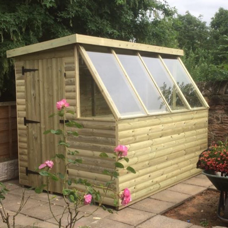 Deluxe Potting Shed Loglap