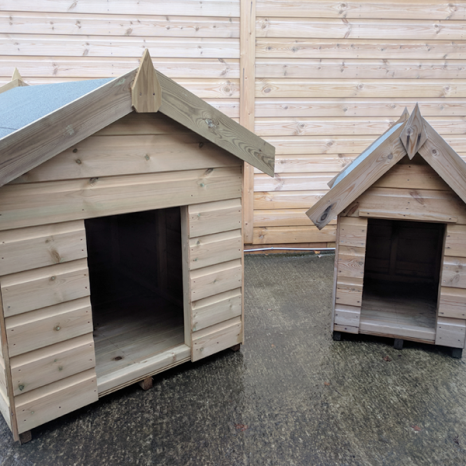 Dog Kennel Weatherboard