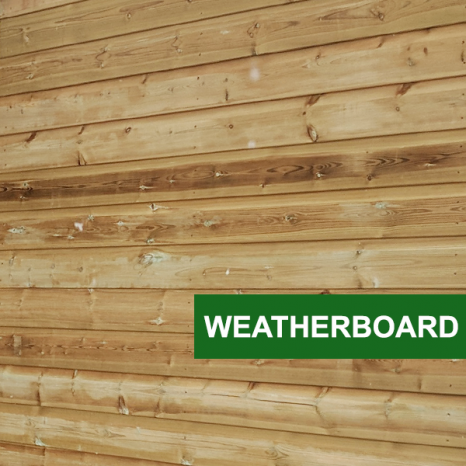 Pent Toolchest Weatherboard