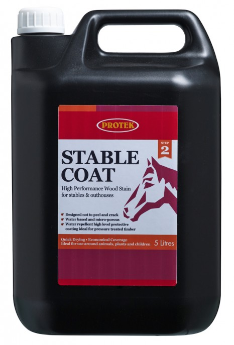 Stable Coat - Light Green 5L